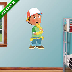 Handy Manny Fathead Wall Decal